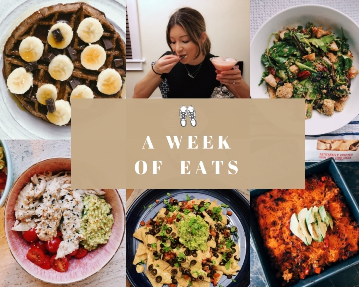 A WEEK OF EATS